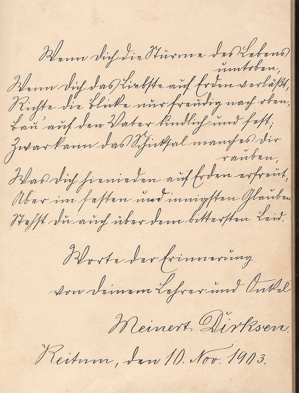 Poesiealben Sprüche 1433